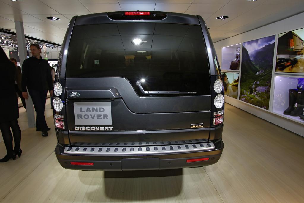 Land Rover Discovery XXV auf dem Genfer Automobil-Salon 2014