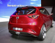 Die Heckpartie des Konzeptautos Mazda Hazumi