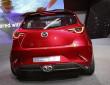 Der Mazda Hazumi ist mit Doppel Auspuffrohren ausgestattet
