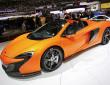 Auf der Automobilmesse Genf zeigt McLaren den neuen 650S Spider