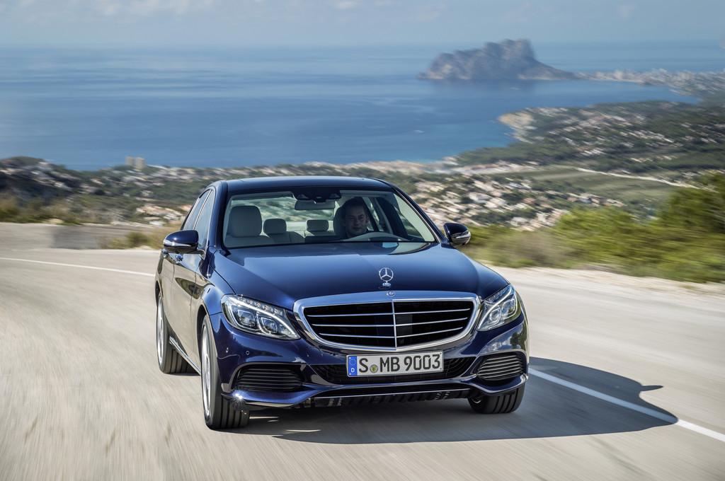 Mercedes-Benz C-Klasse als C 300 Bluetec Hybrid