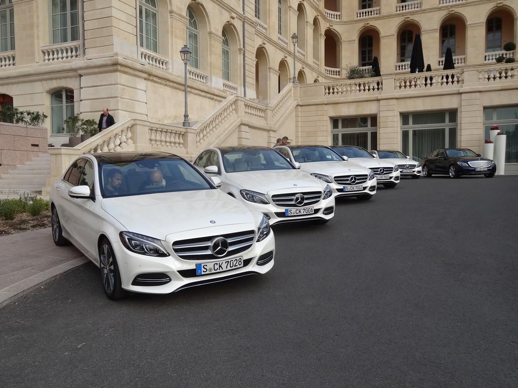 Die neuen Mercedes-Benz C-Klasse Modelle stehen bereit