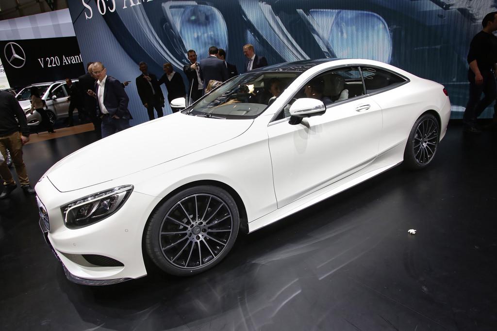 Mercedes-Benz S-Klasse Coupé auf 2014er Genfer Autosalon