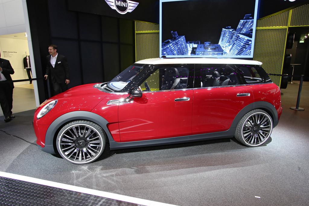 Mini Clubman Concept auf 2014er Genfer Autosalon