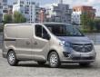 2014er Opel Vivaro als Kastenwagen in der Front- Seitenansicht