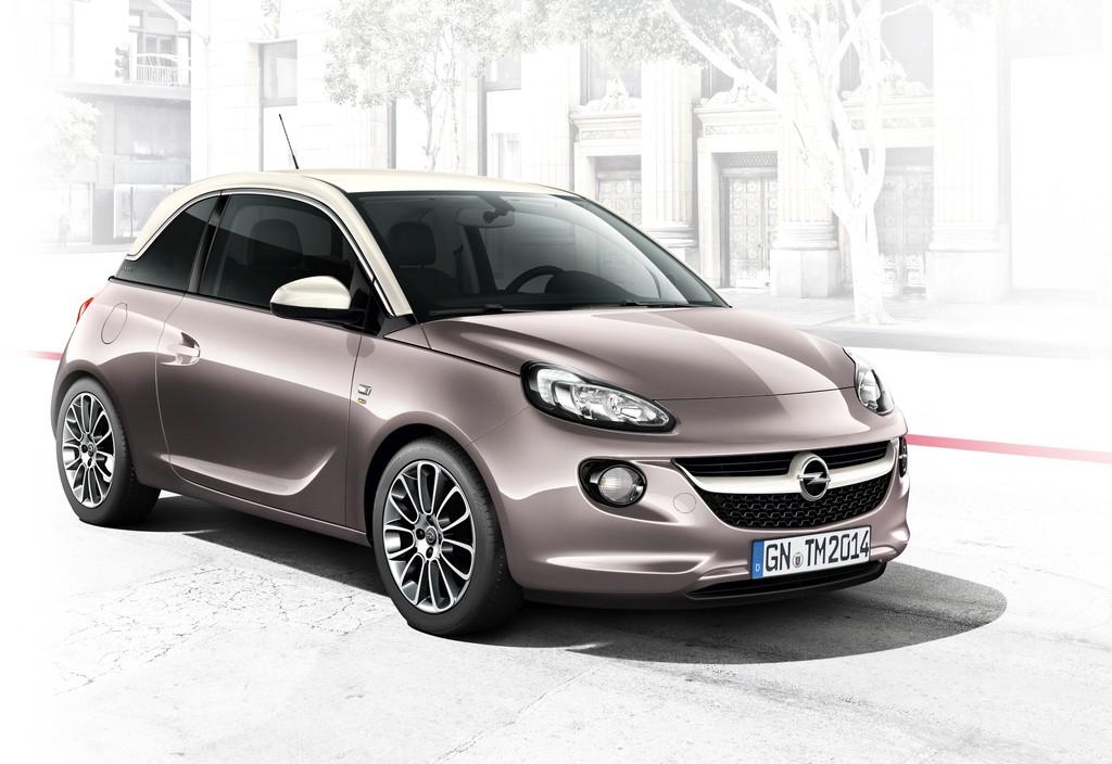Kleinstwagen Opel Adam als Sondermodell Germanys next Topmodell