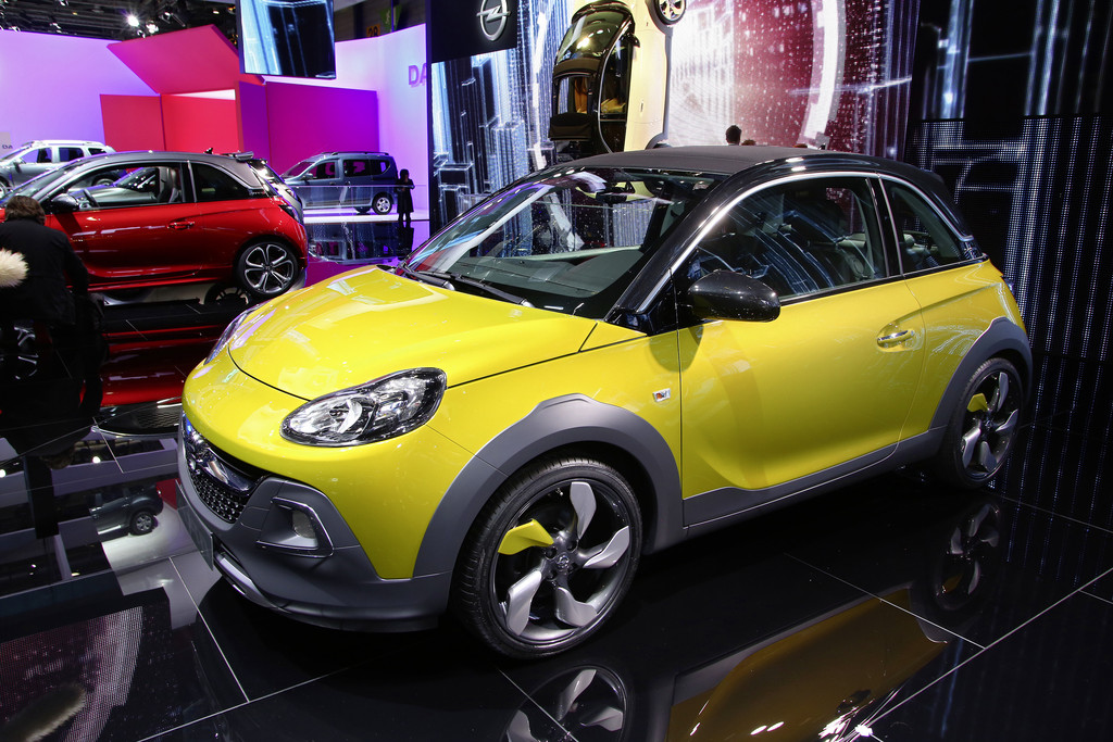 Opel Adam Rocks auf dem Genfer Automobil-Salon 2014