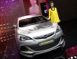 Präsentation des neuen Opel Astra OPC Extreme auf dem Genfer Auto-Salon 2014