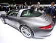 Auf der Automobilmesse Genf zeigt Porsche den neuen 911er Targa