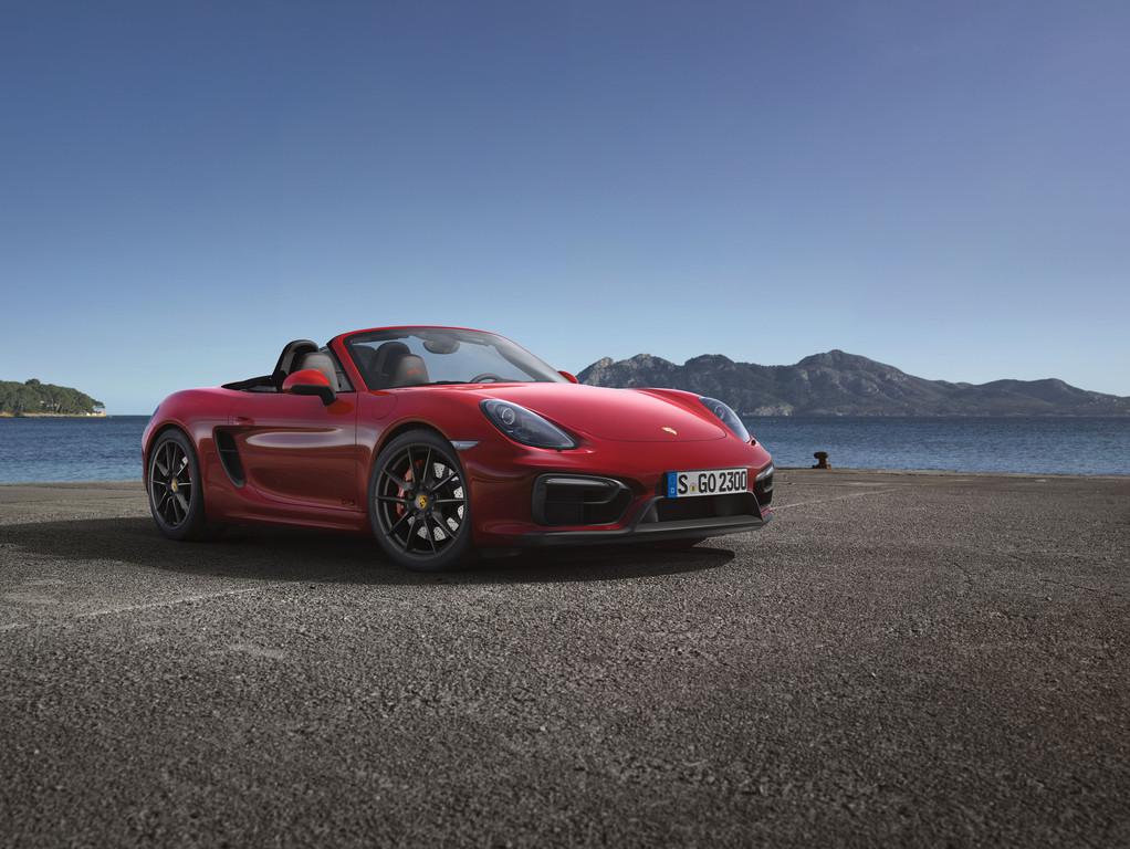 Dre neue Porsche Boxster GTS ist 330 PS stark