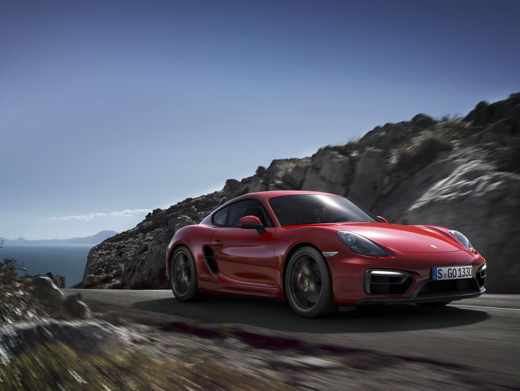 Der neue Porsche Cayman GTS bringt es auf 340 PS Leistung