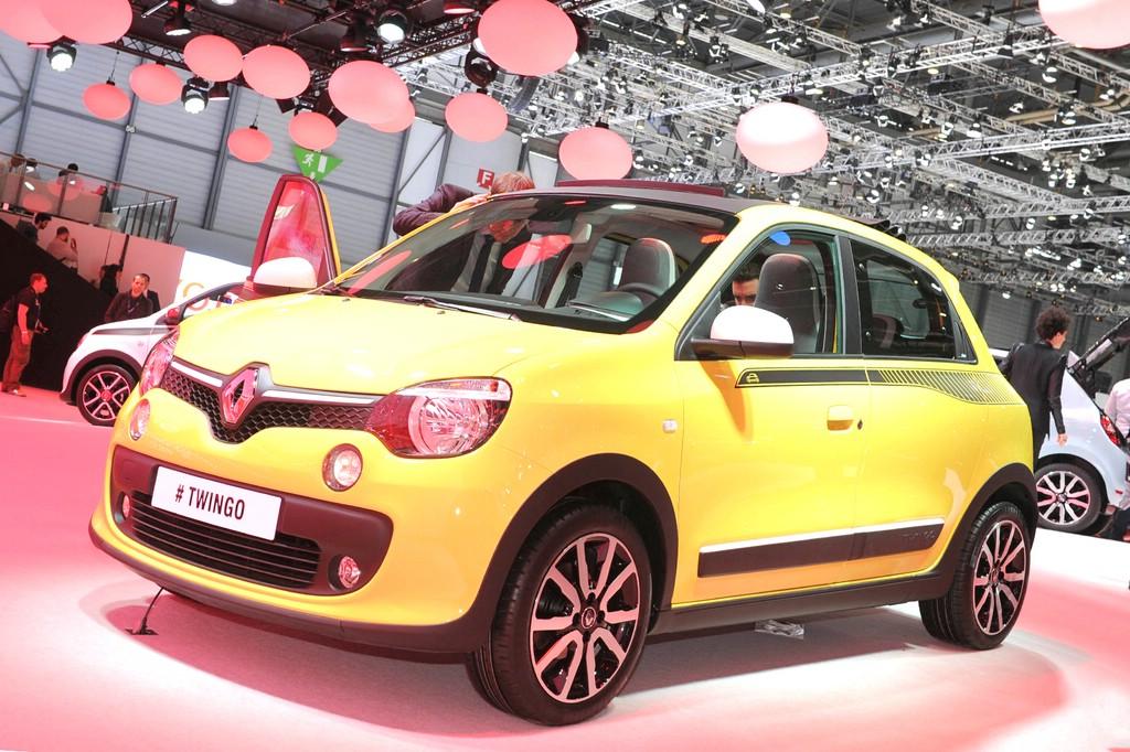 Die dritte Generation des Kleinstwagens Renault Twingo auf dem Autosalon Genf 2014
