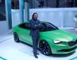 Skoda Vision C auf dem Genfer Automobil-Salon 2014