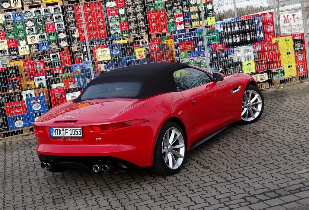 Sportwagen mit 495 PS: Der Jaguar F-Type V8 S Roadster im Test