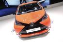 Neuer Toyota Aygo auf dem Genfer Automobil-Salon 2014