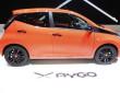 Präsentation des neuen Toyota Aygo auf dem Genfer Auto-Salon 2014