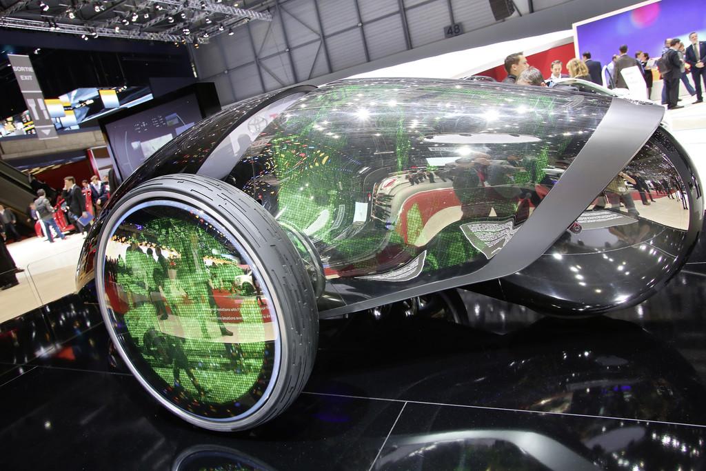 Auf der Automesse Genf zeigt Toyota den FV2
