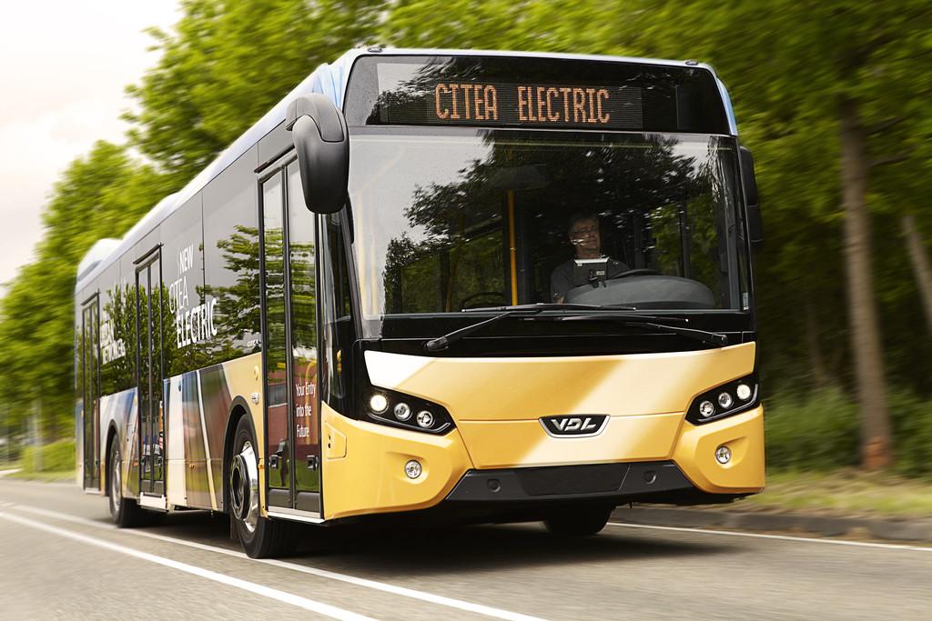 Der VDL Bus Citea Electric fährt rein elektrisch