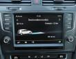 Das Display zeigt wichtige Informationen zum Verbrauch des VW E-Golf