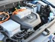 Der Elektromotor unter der Haube des VW E-Golf