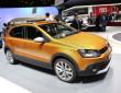 Volkswagen präsentiert den neuen CrossPolo 2014 auf Autosalon Genf 2014