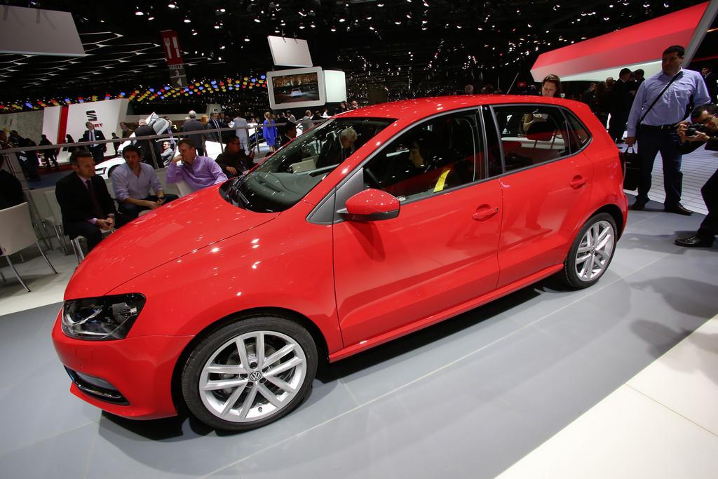 Vorstellung des modellgepflegten VW Polo auf dem Genfer Automobilsalon 2014