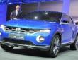 Auf der Automesse Genf zeigt VW die Fahrzeugstudie T-ROC