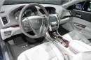 Die Sitze, Lenkrad, Mittelkonsole des Acura TLX