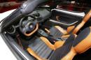 Das Interieur des Alfa Romeo 4C Spider