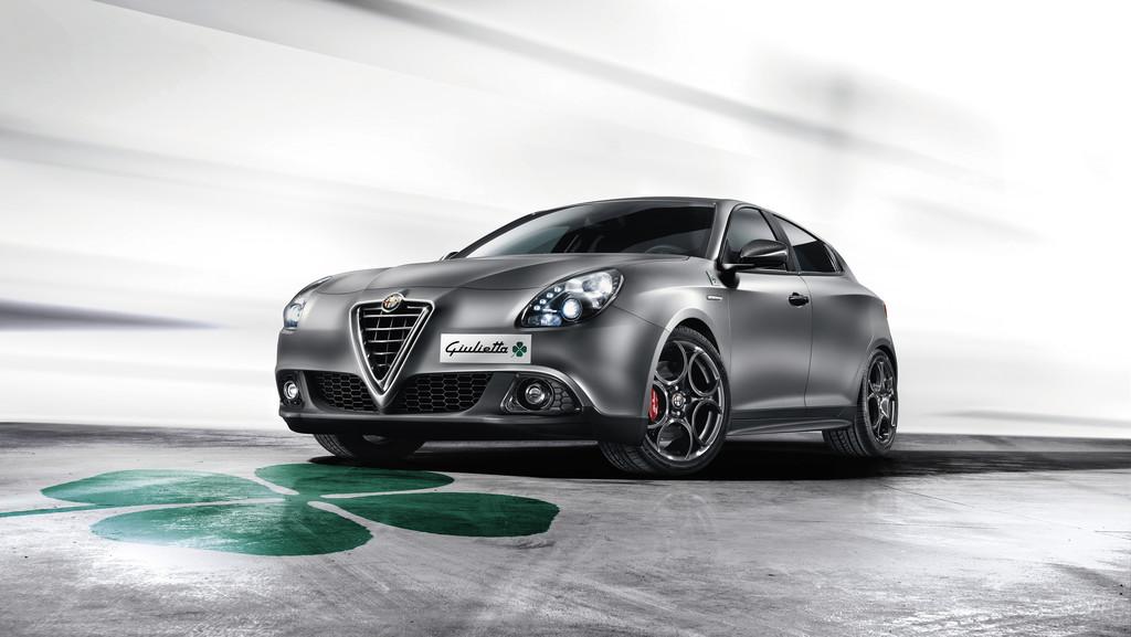 Frontaufnahme vom Alfa Romeo Giuliettra Quadrifoglio Verde