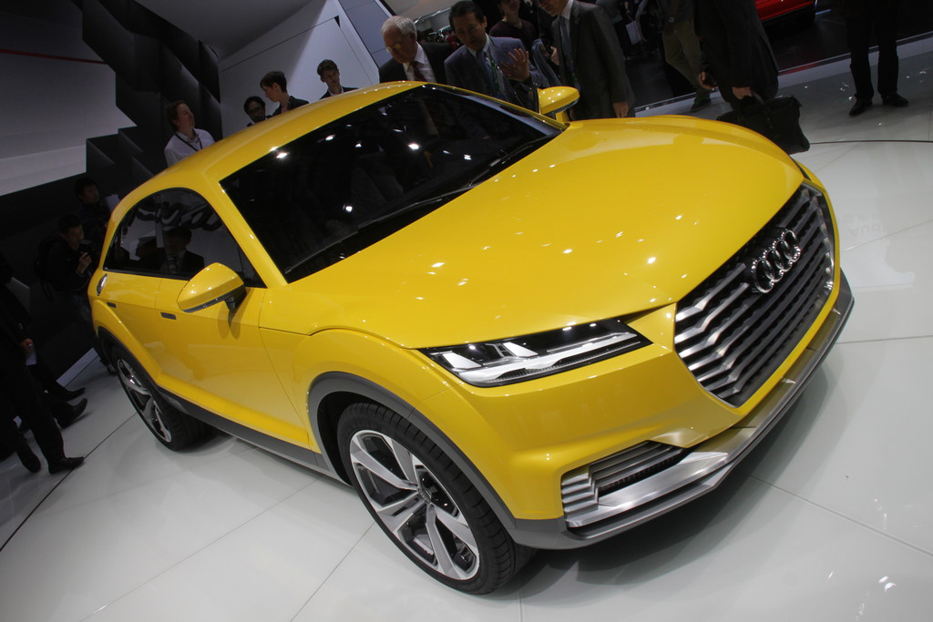 Audi TT Offroad Concept auf der Auto China 2014 in Peking
