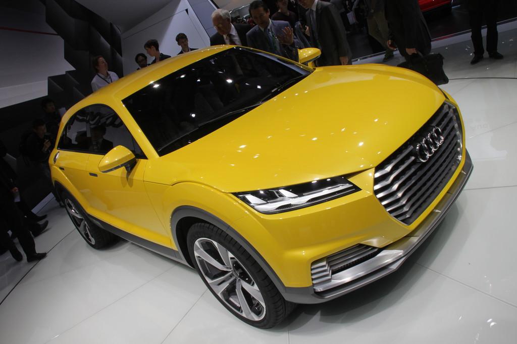 Audi TT Offroad Concept auf der Auto China 2014 in Peking