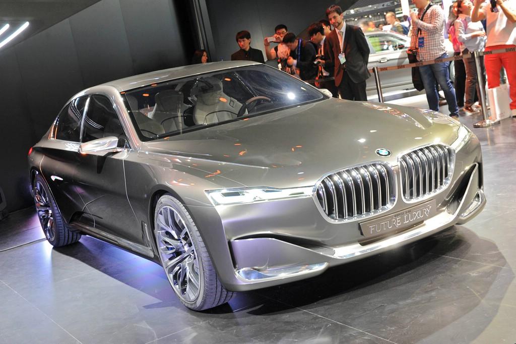 BMW Vision Future Luxury auf der Automobilmesse Peking 2014