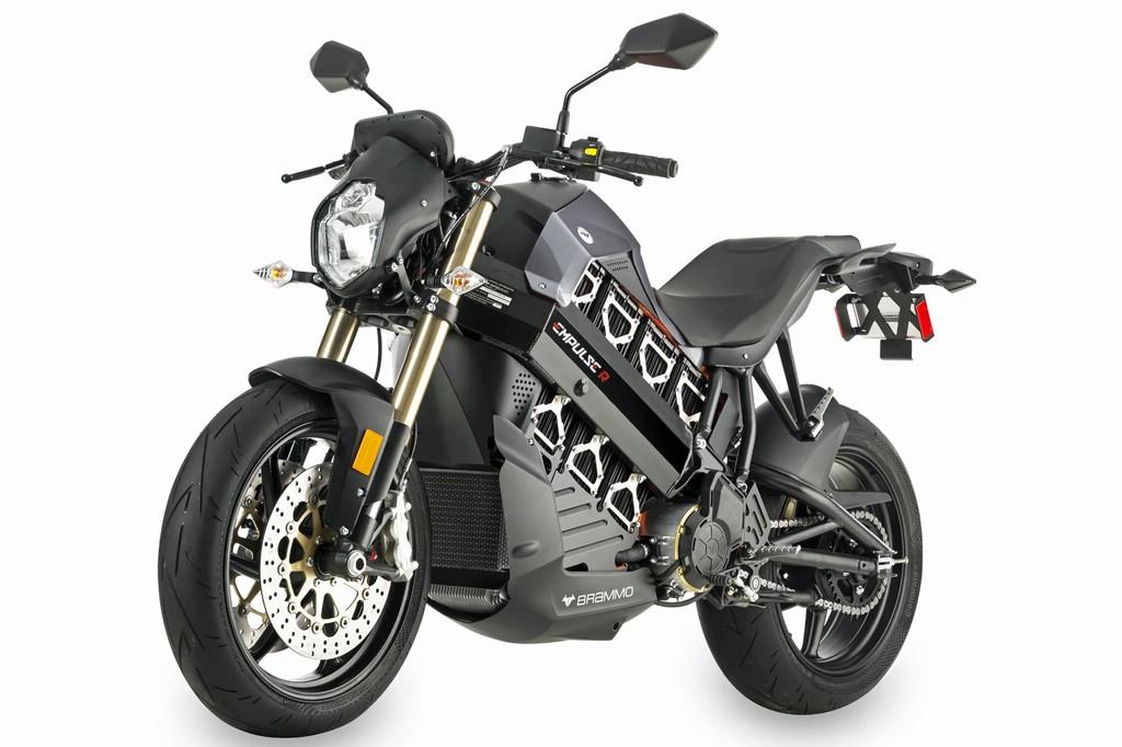 Die Brammo Empulse R ist das schnellste Elektro-Motorrad der Welt