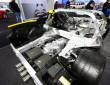 Aluminium-Chassis des Corvette Stingray von Chevrolet