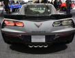 Die Heckparie des Chevrolet Corvette ZR06 Coupe
