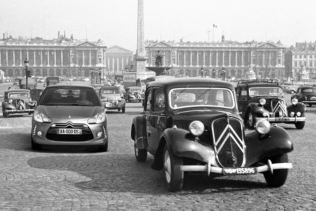 Der Citroën Traction Avant wurde 18. April 1934 geboren