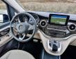 Das Cockpit der neuen Großraumlimousine Mercedes-Benz V-Klasse