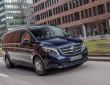 Das Frontdesign des neuen Mercedes-Benz V-Klasse