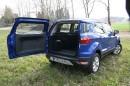 Die Hecktür des Ford Ecosport 1.0 l Ecoboost