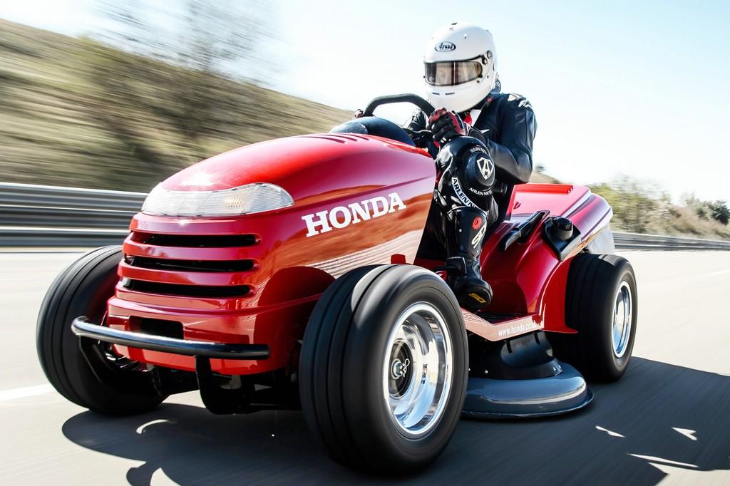 Der Honda Rasenmeher Mean Mower ist fast 200 km/h schnell