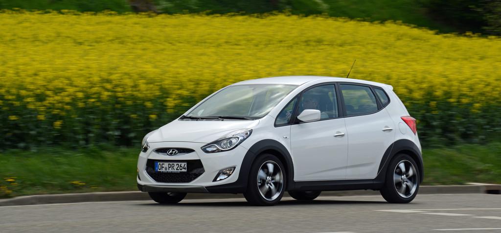 Die Sonderserie Hyundai ix20 Crossline umfasst 500 Fahrzeuge und bietet einen Kundenvorteil von über 1500 Euro.