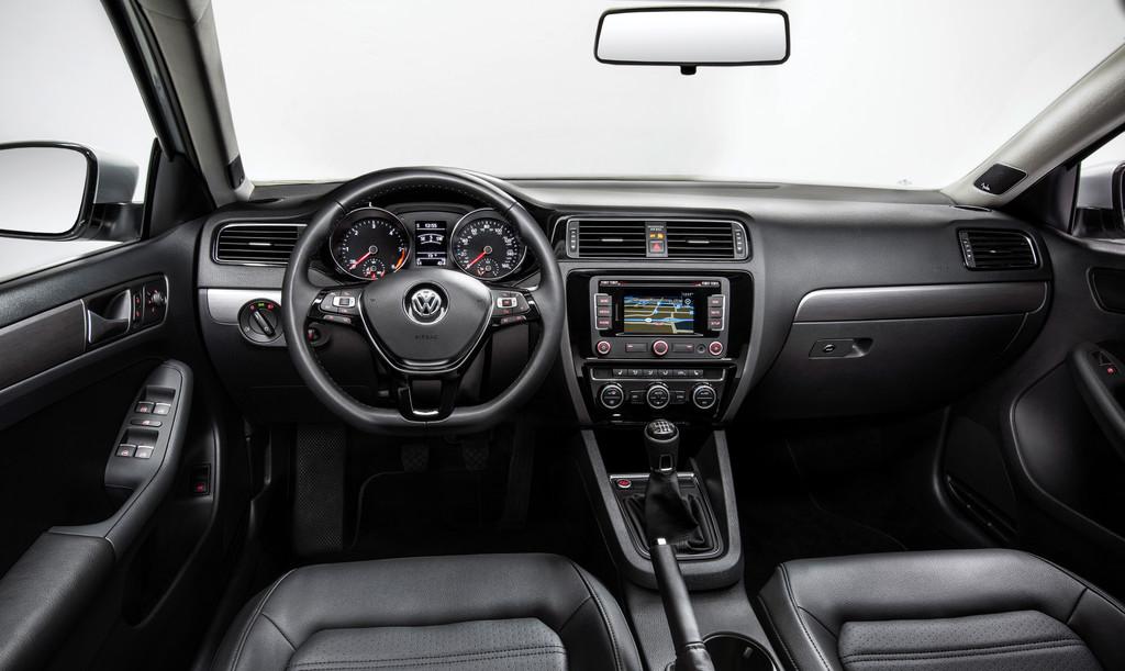 VW Jetta 2018 >> Galerie: Innenraum Volkswagen Jetta USA | Bilder und Fotos