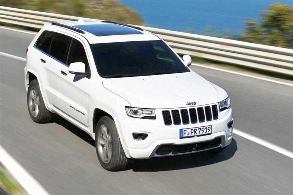 Von dem Rückruf ist der Jeep Grand Cherokee betroffen