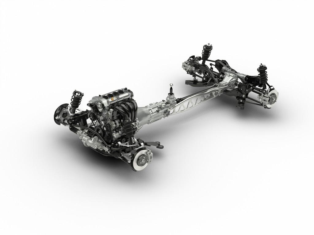 Chassis des 4. Generation des Mazda MX-5