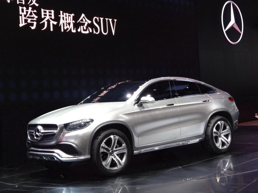 Mercedes-Benz Concept Coupé SUV auf der Pekinger Automesse Auto China 2014