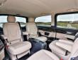 Die Einzelsitze im Fond des Mercedes-Benz V-Klasse