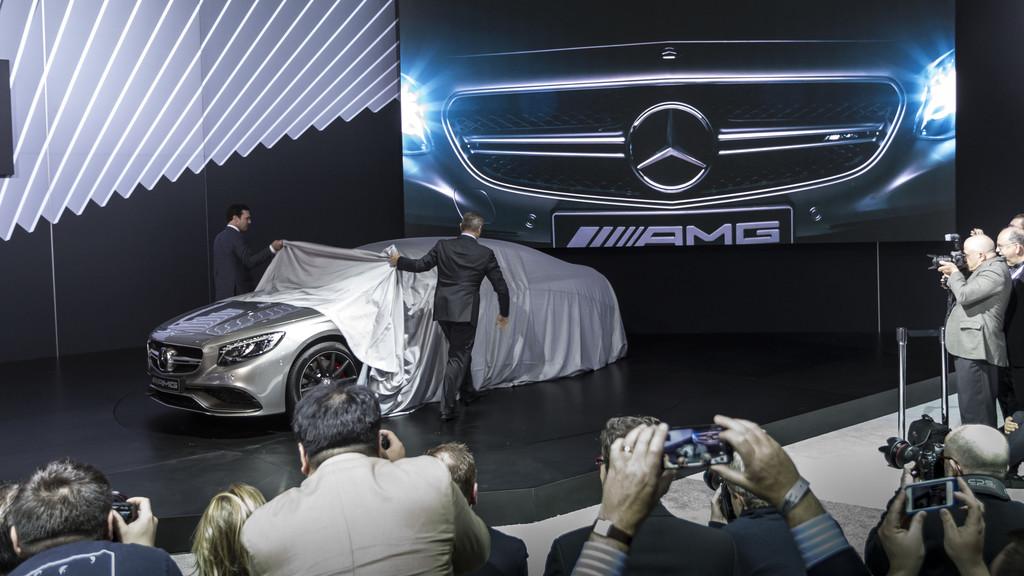Das Mercedes S63 AMG Coupé wird in New York enthüllt