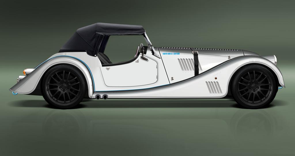 Morgan Plus 8 Speedster mit geschlossenem Dach