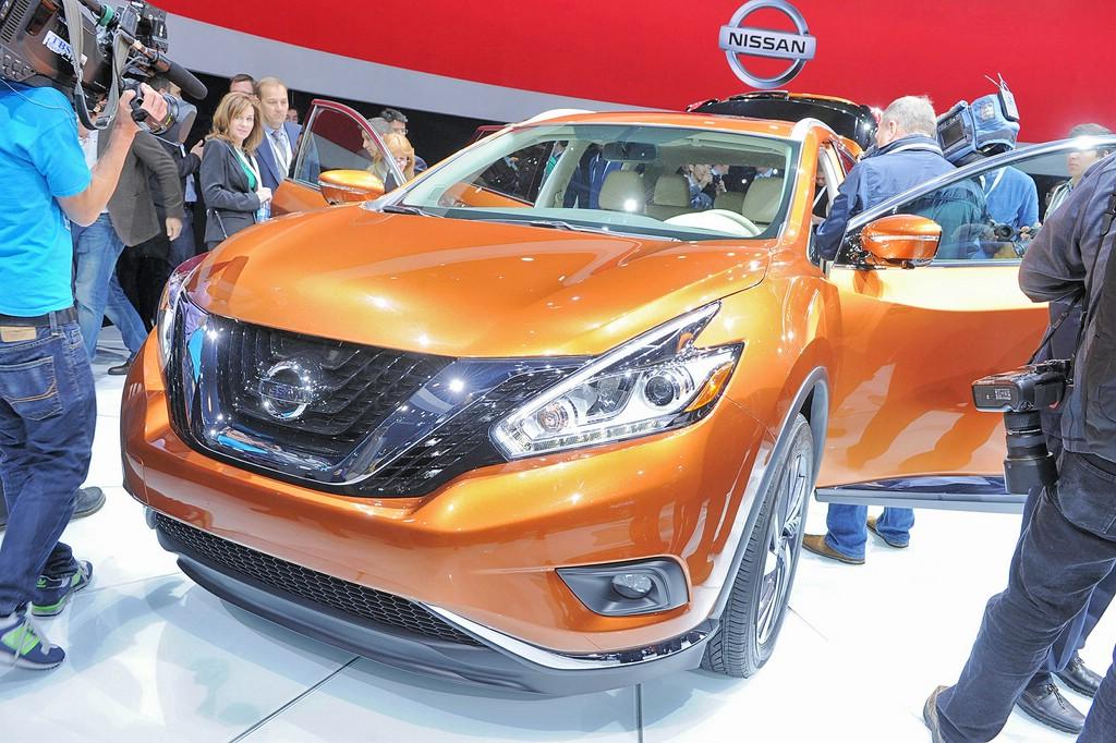 Nissan Murano auf der 2014 New York Auto Show